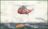 Search and Rescue - Sea King Helicopters fine art print